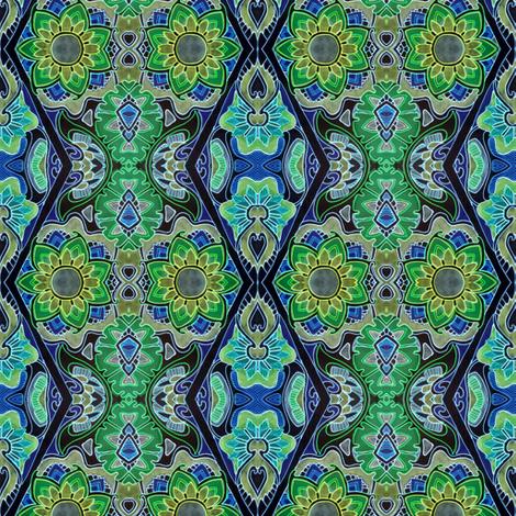 Neon Nights fabric by edsel2084 on Spoonflower - custom fabric