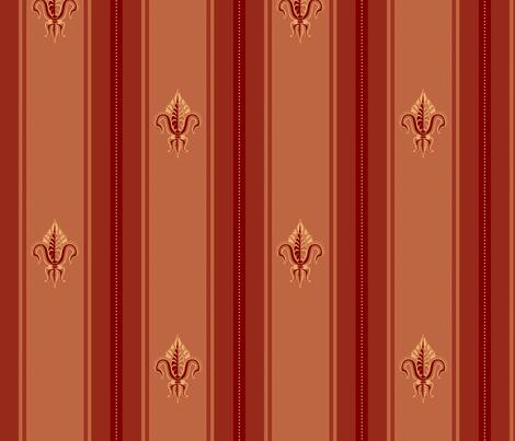FDL Claret fabric by glimmericks on Spoonflower - custom fabric