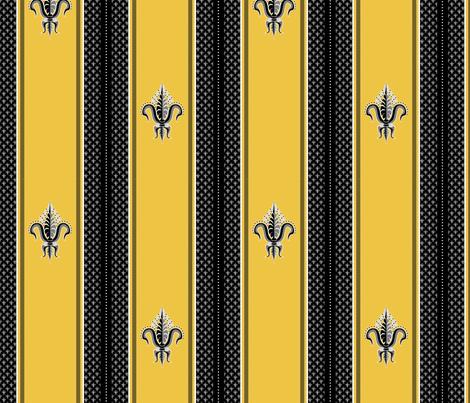 FDL Hornet fabric by glimmericks on Spoonflower - custom fabric