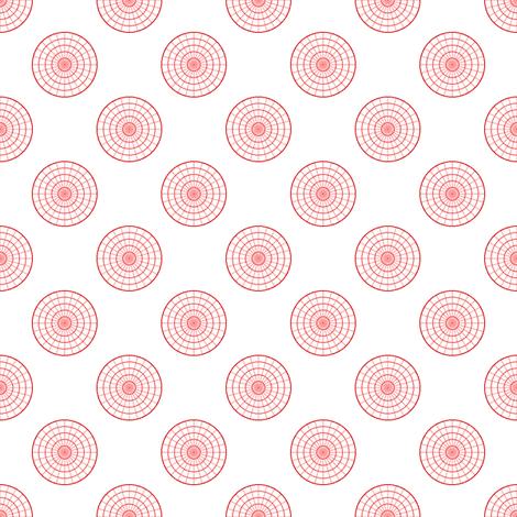 polar graph R4X fabric by sef on Spoonflower - custom fabric