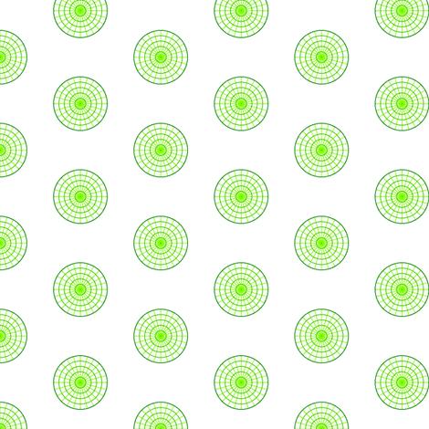 polar graph polka R6X fabric by sef on Spoonflower - custom fabric