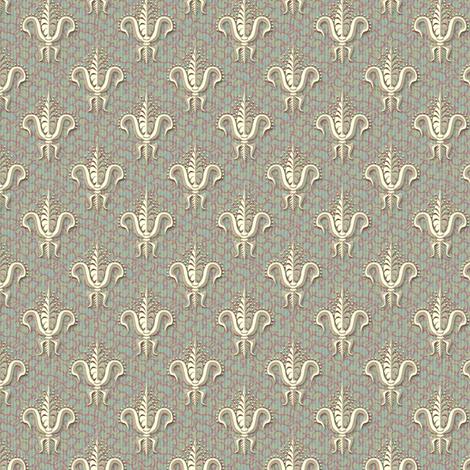 FDL Rich Damask fabric by glimmericks on Spoonflower - custom fabric