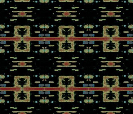 Dark Horse fabric by susaninparis on Spoonflower - custom fabric