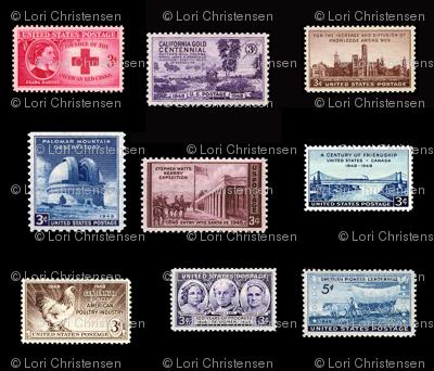 stamp fat quarter 3