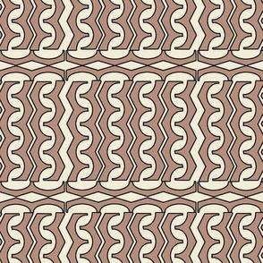 Tan Sand Wriggle Glyph