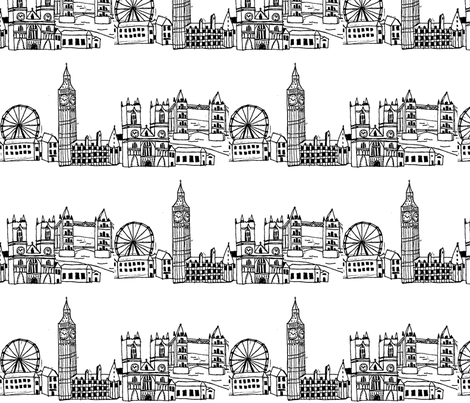 London  fabric by andrewsfgiants on Spoonflower - custom fabric