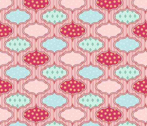 wallpaper fabric by mrshervi on Spoonflower - custom fabric