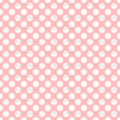 Parson's Pink Rose in Swiss Dot Coordinate