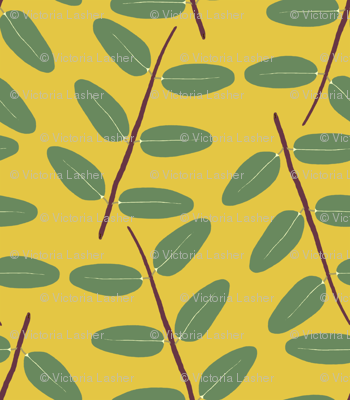 Hypericum Hidcote twig zigzag - gold (Coordinate for Buttercups on a bush)