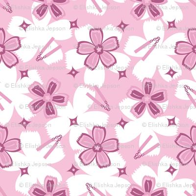 Super Pink Nunchucks!