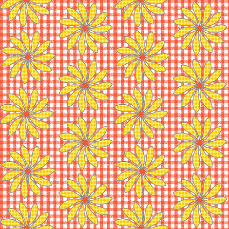 Polka Dot Petals fabric by cksstudio80 on Spoonflower - custom fabric
