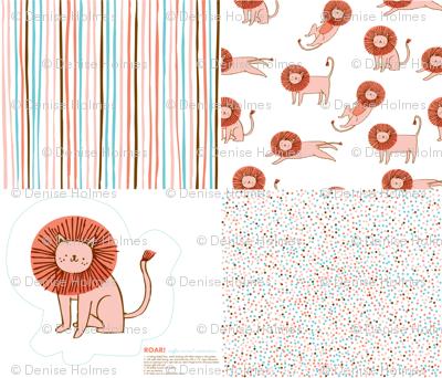 Roar! Lion Collection Sampler