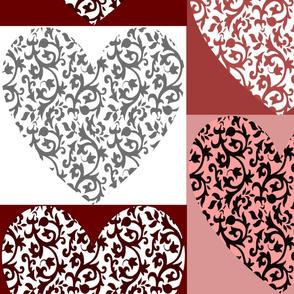 Damask Heart 005