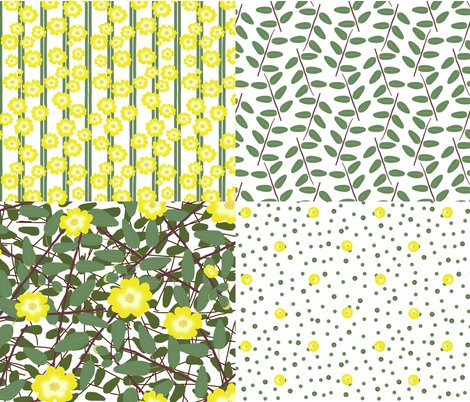Rrrrrrrbuttercups_on_a_bush_fq_collection_white_shop_preview