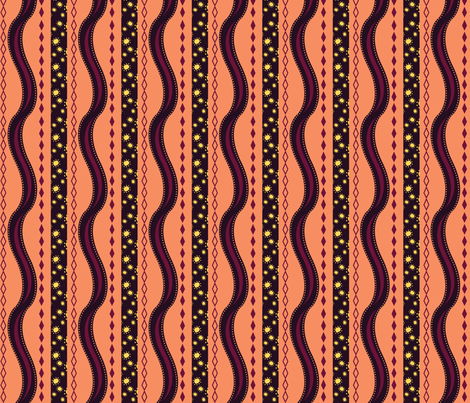 Harlequin Summer Stripe fabric by jubilli on Spoonflower - custom fabric