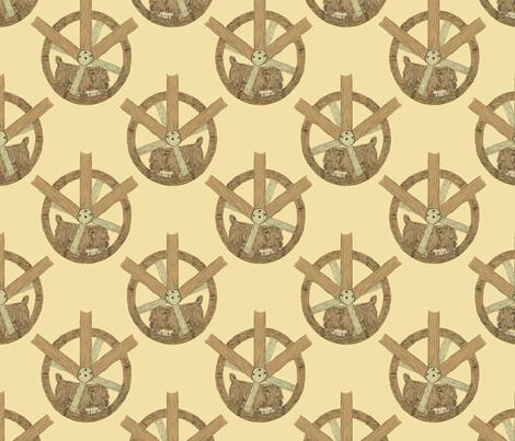 The Turnspits fabric by rusticcorgi on Spoonflower - custom fabric