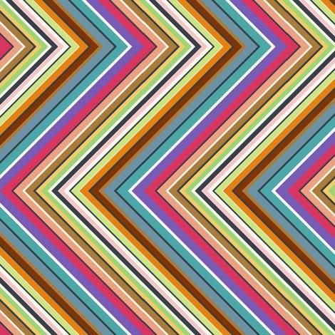 zigzag zigzag zigzag fabric by kato_kato on Spoonflower - custom fabric