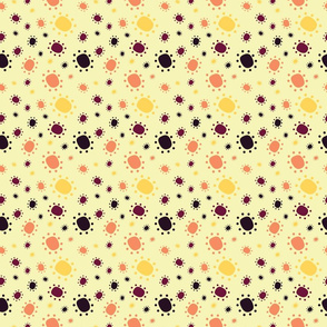Harlequin Summer Dots - Cream