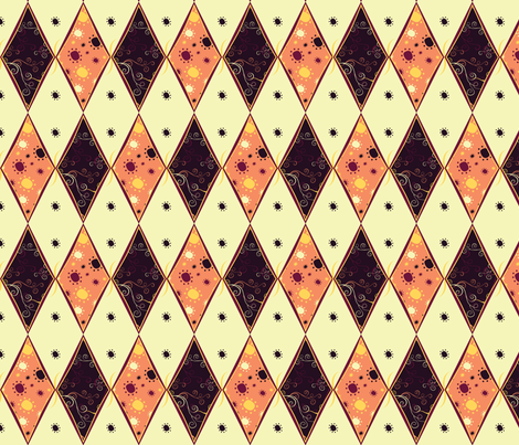 Harlequin Summer Diamonds fabric by jubilli on Spoonflower - custom fabric