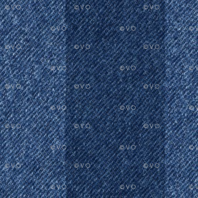 1/2 inch striped denim