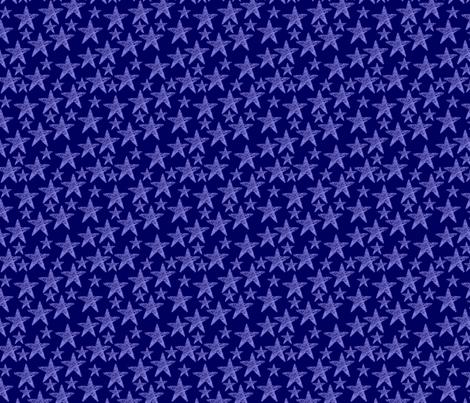 Fourth of July Stars fabric by katsanders on Spoonflower - custom fabric