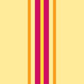 Sand with Fuchsia Stripe