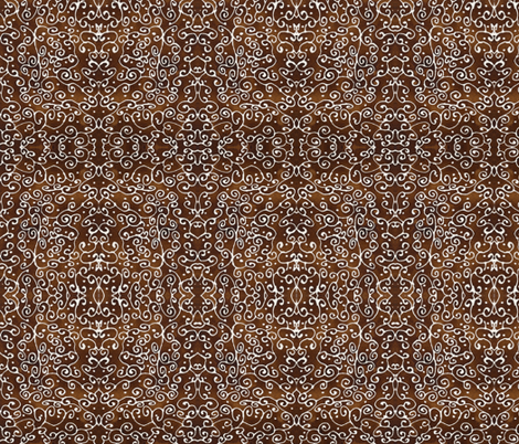 Coffee Laced 2011 fabric by amyelyse on Spoonflower - custom fabric