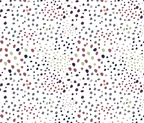 Little dots fabric by demigoutte on Spoonflower - custom fabric