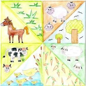 animal patchwork