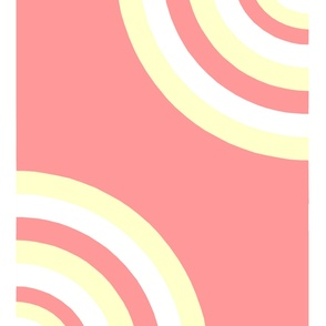 circle skirt striped