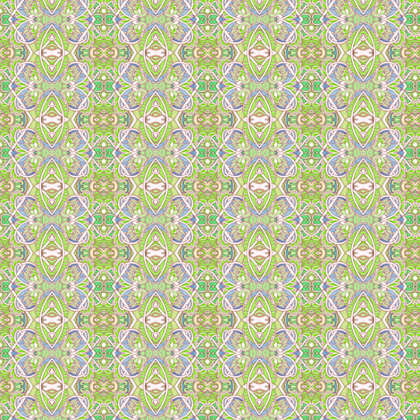 Zig Zag Key Lime Vertical Stripe fabric by edsel2084 on Spoonflower - custom fabric