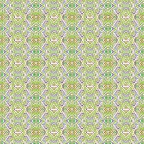 Zig Zag Key Lime Vertical Stripe