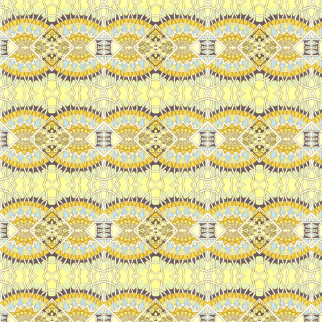 Atomic Sunrise fabric by edsel2084 on Spoonflower - custom fabric