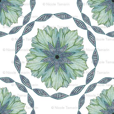 Floral Wheel