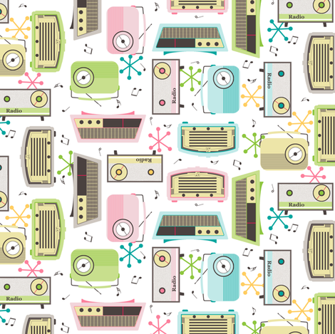 Plastic Fantastic!! fabric by inscribed_here on Spoonflower - custom fabric