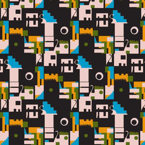 Swan Lake fabric by boris_thumbkin on Spoonflower - custom fabric