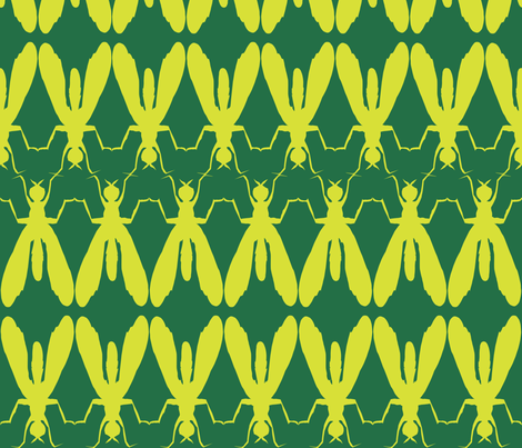 flyAvocado fabric by hippylongstockings on Spoonflower - custom fabric