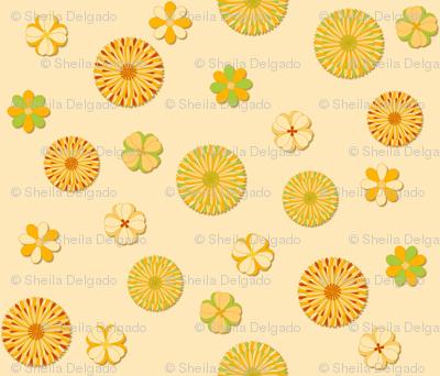 Floral - Mango