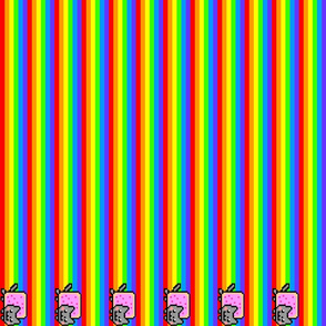 Nyan cat rainbow
