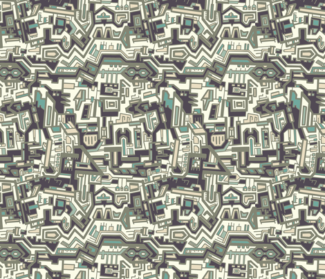 Circuits fabric by teja_jamilla on Spoonflower - custom fabric