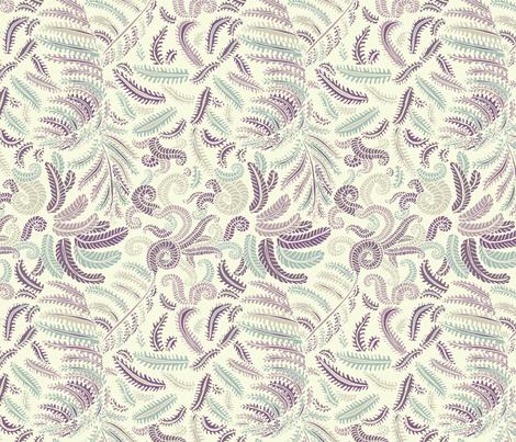 Ferns  fabric by teja_jamilla on Spoonflower - custom fabric