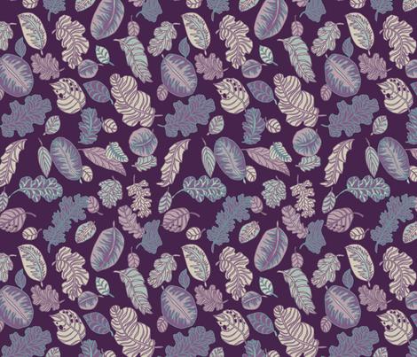 Foliage fabric by teja_jamilla on Spoonflower - custom fabric