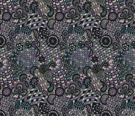 Irish Crochet  fabric by teja_jamilla on Spoonflower - custom fabric