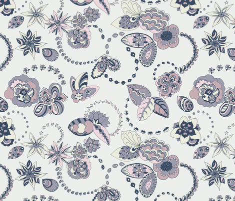 Doodle Chains  fabric by teja_jamilla on Spoonflower - custom fabric