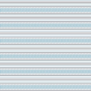 Fret Stripe Cornflower Blue-Charcoal Grey