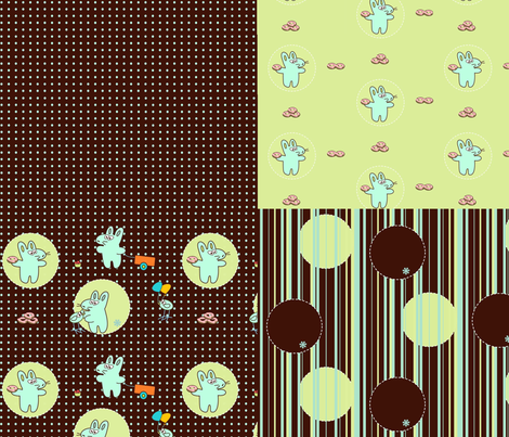 Kato's glowing patterns fabric by kato_kato on Spoonflower - custom fabric