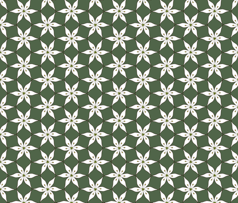 Garlic Flower fabric by phantomssiren on Spoonflower - custom fabric