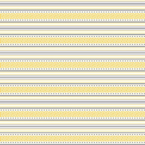 Fret Stripe Amber Yellow-Charcoal Grey