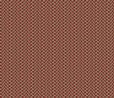 Brown Vacuum Tube Herringbone fabric by exfish on Spoonflower - custom fabric