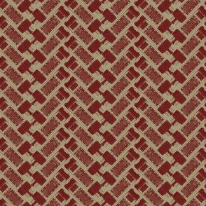 Brown Vacuum Tube Herringbone